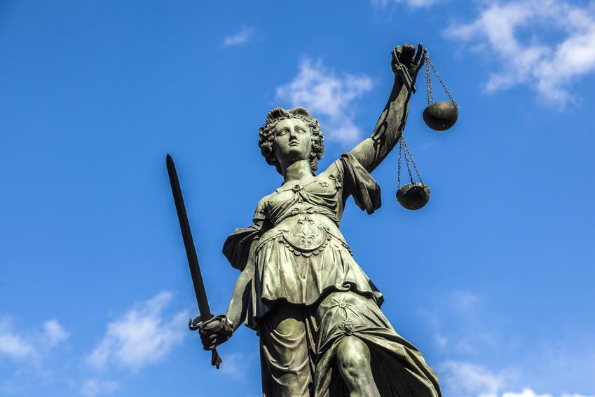 Justitia in Frankfurt