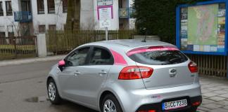 CiteeCar in Pullach, Stellplatz in der Schwanthalerstraße