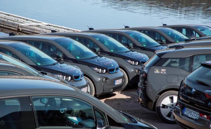 Alphabet übergibt 25 BMW i3_Fahrzeuge