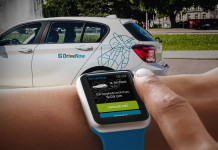 DriveNow App auf der Apple Watch