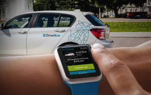 DriveNow App auf der Apple Watch