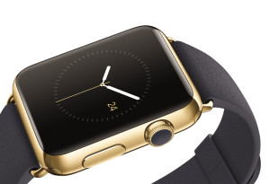 Apple Watch in gold