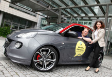 Opel-Marketingchefin Tina Müller und Dr. Jan Wergin, Direktor Opel Community Carsharing