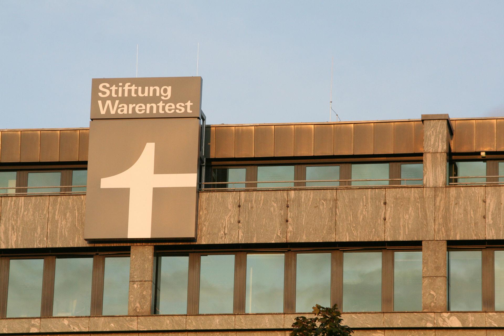 Gebäude der Stiftung Warentest