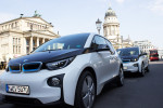 BMW i3 von DriveNow Außenansicht