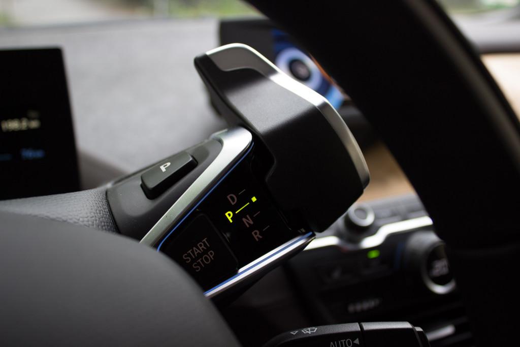 BMW i3 von DriveNow Gang Auswahl