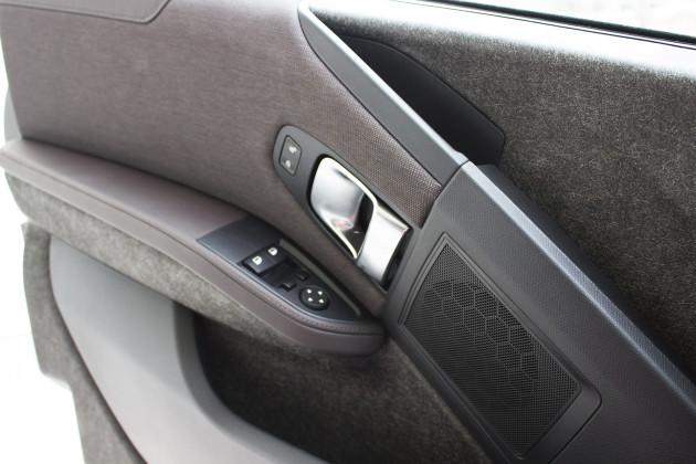 BMW i3 von DriveNow Fahrertür