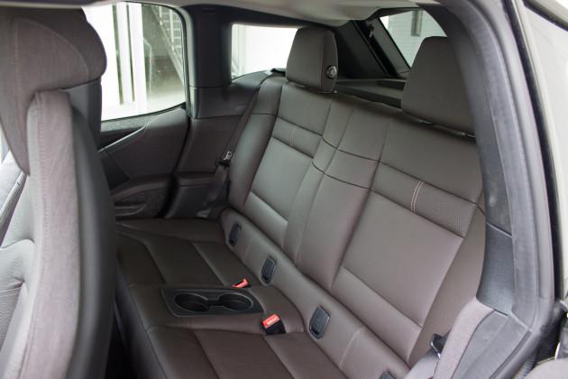 BMW i3 von DriveNow Rückbank