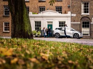 BMW i3 von DriveNow in London