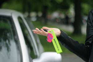 Schlüsselanhänger von Drivy und Autonetzer
