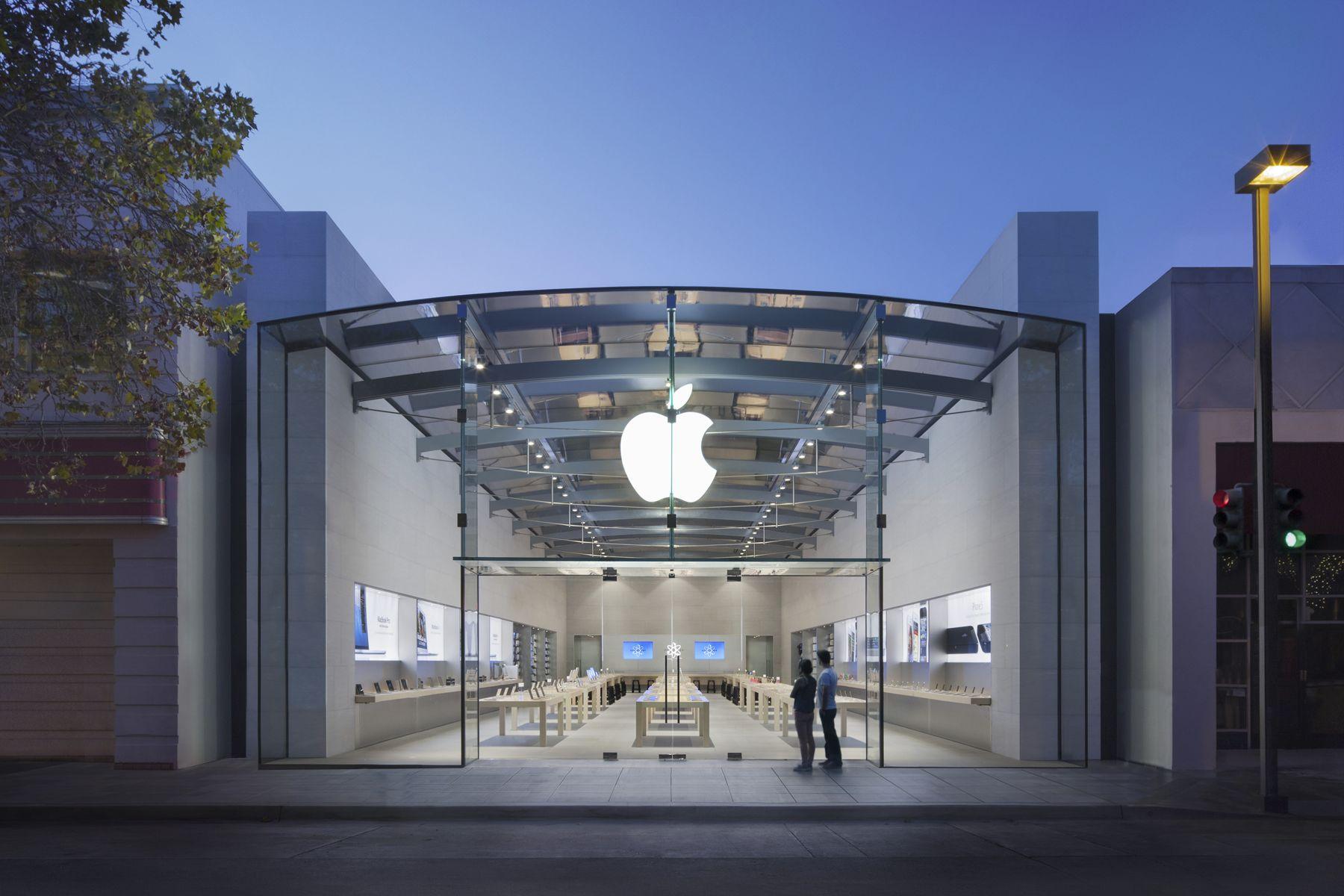Apple Store in Kalifornien