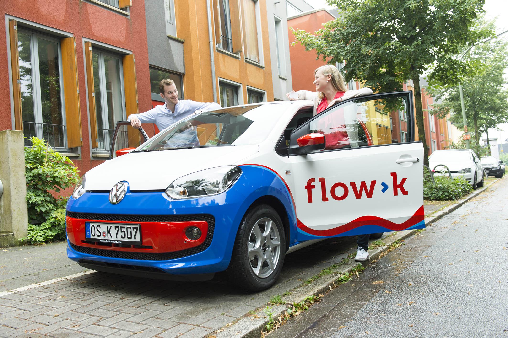 Ein VW up! von flow>k in Osnabrück