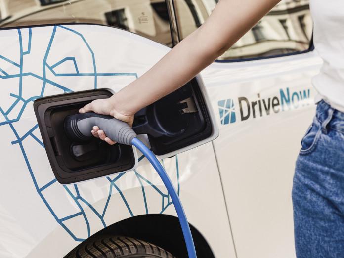DriveNow BMW i3 Aufladung