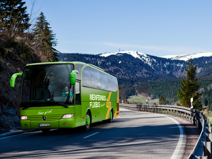 MeinFernbus FlixBus im Winter