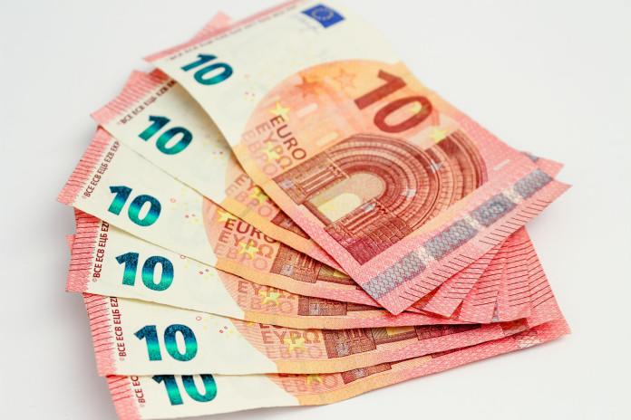Einige 10 Euro Scheine