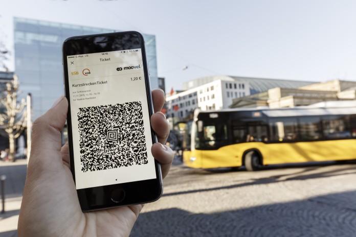 Moovel App Ticket
