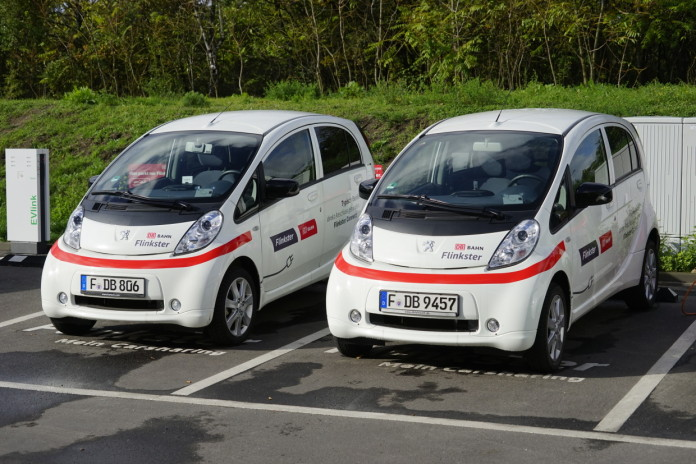 Flinkster-Elektrofahrzeug