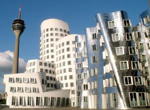 Die Gehry-Bauten im MedienHafen