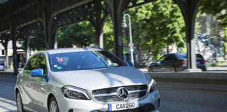 Mercedes-Benz von car2go in Berlin
