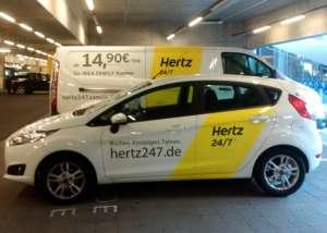 Hertz 24/7 Carsharing am IKEA Einrichtungshaus in Frankfurt