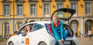 Ein Fahrzeug von Cambio in Bonn