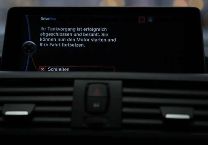 DriveNow TOTAL digitale Tankkarte