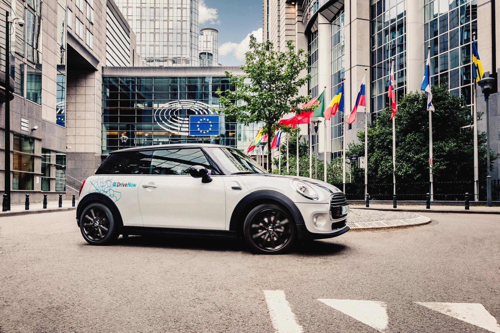 DriveNow MINI in Brüssel