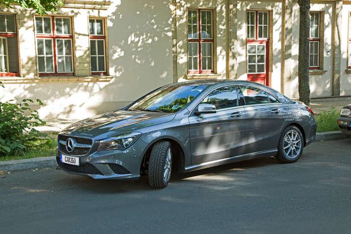 Mercedes-Benz CLA von car2go