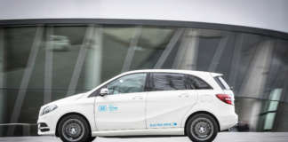 Mercedes B-Klasse Electric Drive von car2go