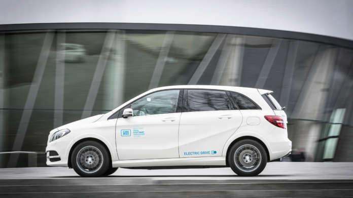 Mercedes B-Klasse Electric Drive von car2go