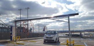Neue Stellplätze von car2go am Stuttgarter Flughafen