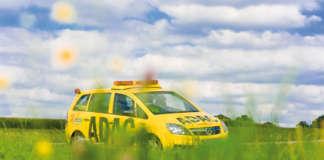Die ADAC Straßenwacht unterwegs