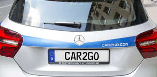 Mercedes-Benz car2go Heck