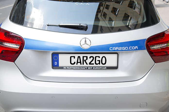 Mercedes-Benz car2go Heck