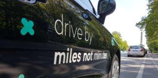 Drive by Slogan auf A1