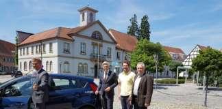 Startschuss Klimaprojekt in Schwetzingen
