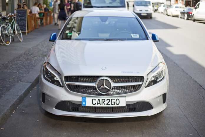 Mercedes Benz A-Klasse von car2go
