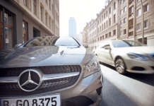 Front eines car2go Mercedes-Benz