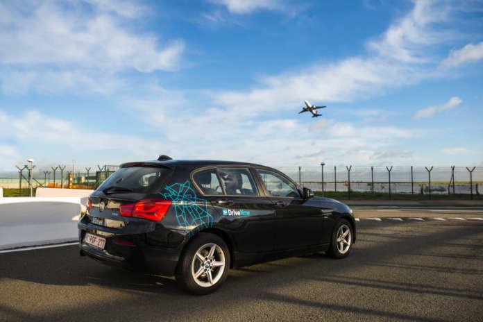 DriveNow Carsharing am Flughafen