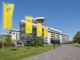 Opel Zentrale in Rüsselsheim