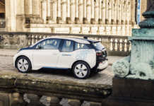BMW i3 von DriveNow in Berlin