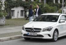 Mercedes von car2go in Köln
