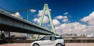 BMW i3 von DriveNow in Köln