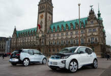 BMW i3 DriveNow in Hamburg