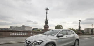 Mercedes-Benz GLA von car2go