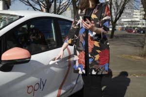 Fahrzeug von Oply Carsharing in München
