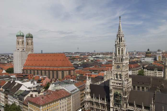 Skyline von München
