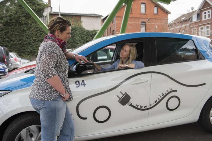 Fahrzeug von E-WALD Carsharing