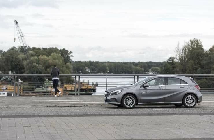 Carsharing von car2go in Hamburg