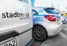 Carsharing Autos von Stadtmobil und car2go